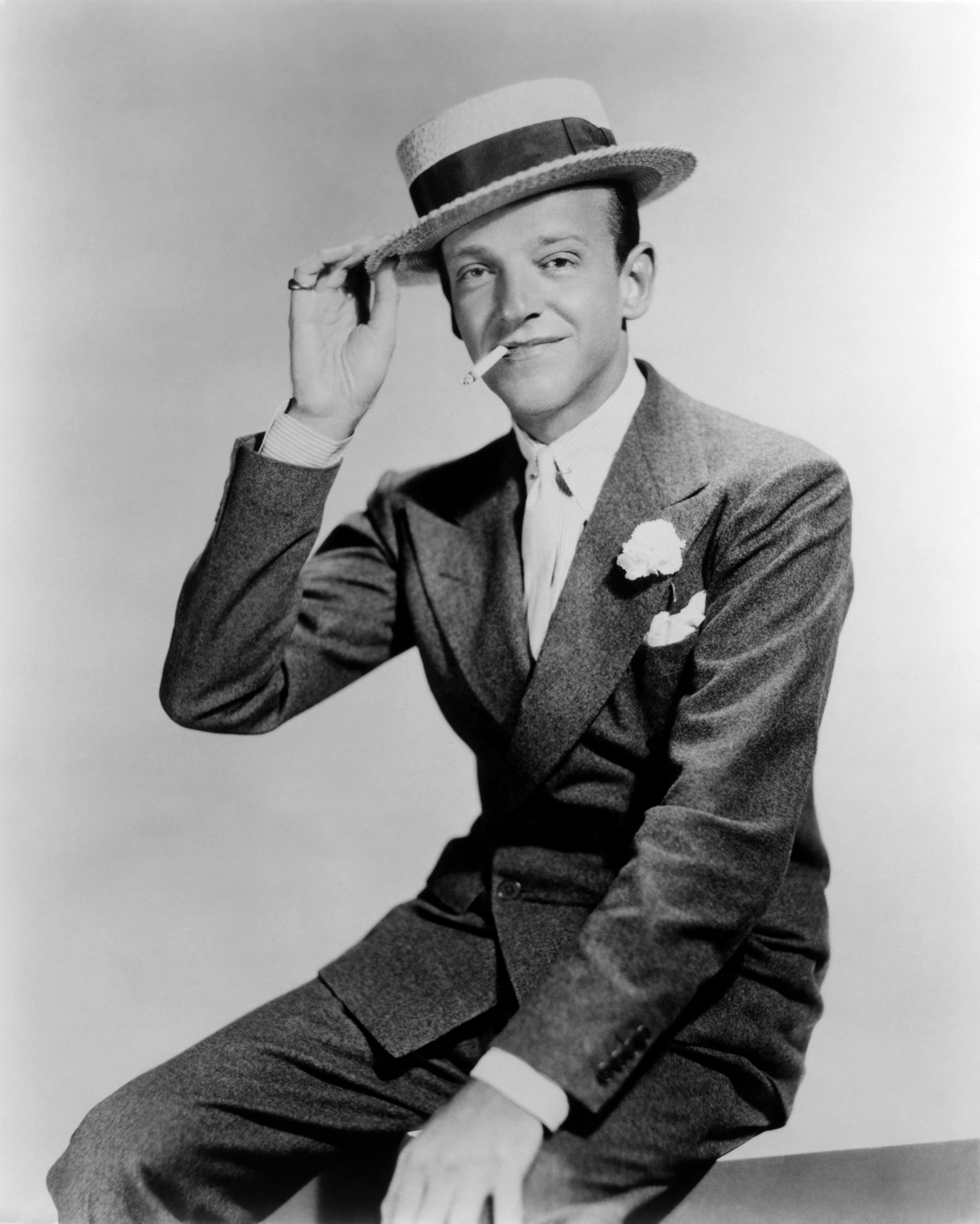 fred astaire via gq the fine young gentleman