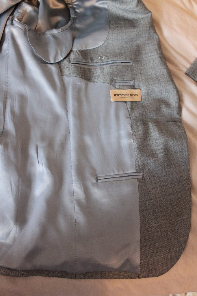 Indochino review inside jacket