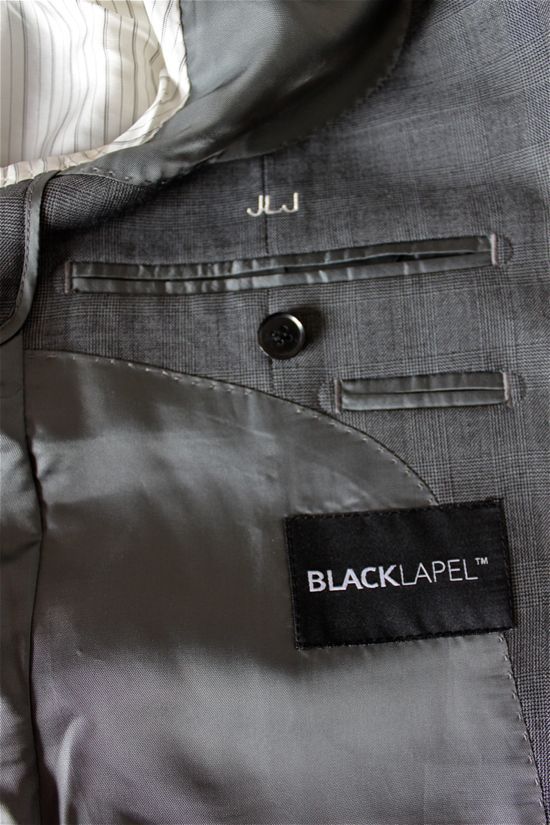 black lapel review inside jacket pockets