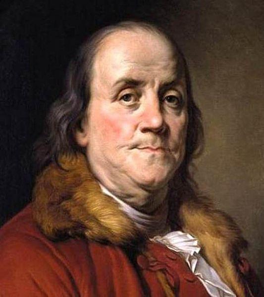 http://en.wikipedia.org/wiki/File:Benjamin_Franklin_by_Joseph-Siffred_Duplessis.jpg