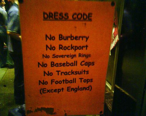 club dress code - http://flickrhivemind.net/Tags/comicsans/Interesting