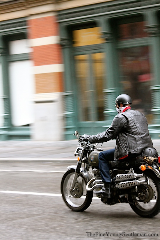 hurricane sandy motorcycle
