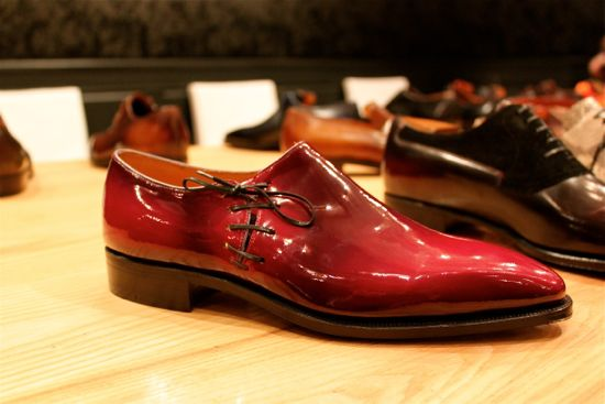 corthay red shoe