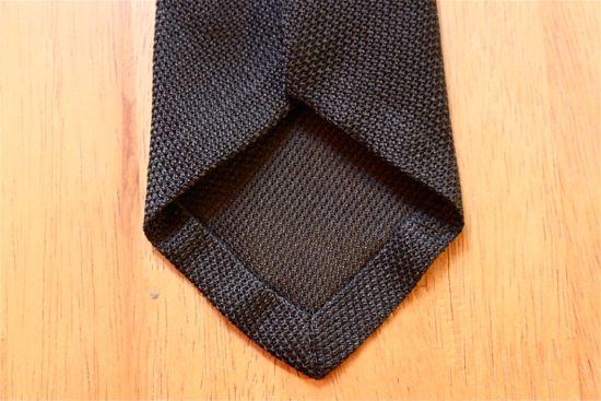 louis walton untipped grenadine tie