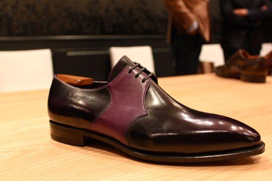 pierre corthay purple shoe