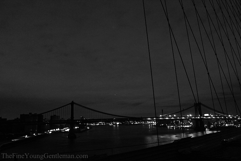 hurricane sandy Manhattan bridge