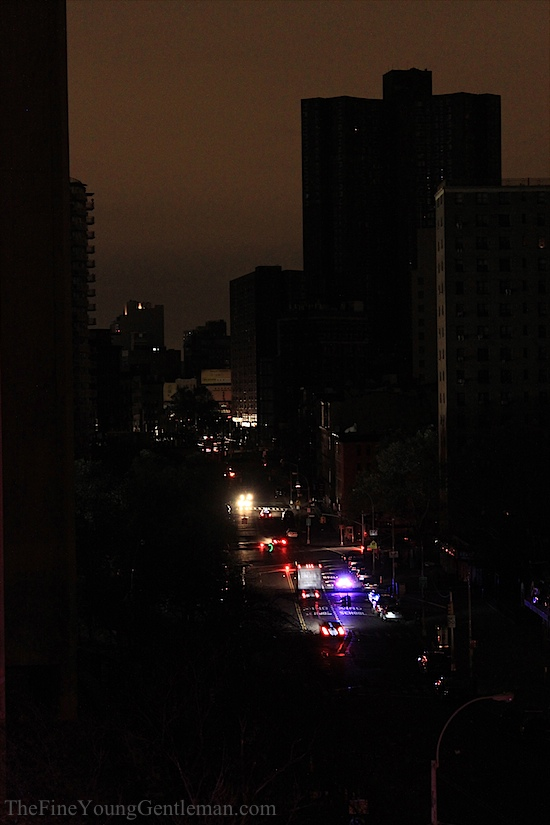 hurricane sandy nyc without power