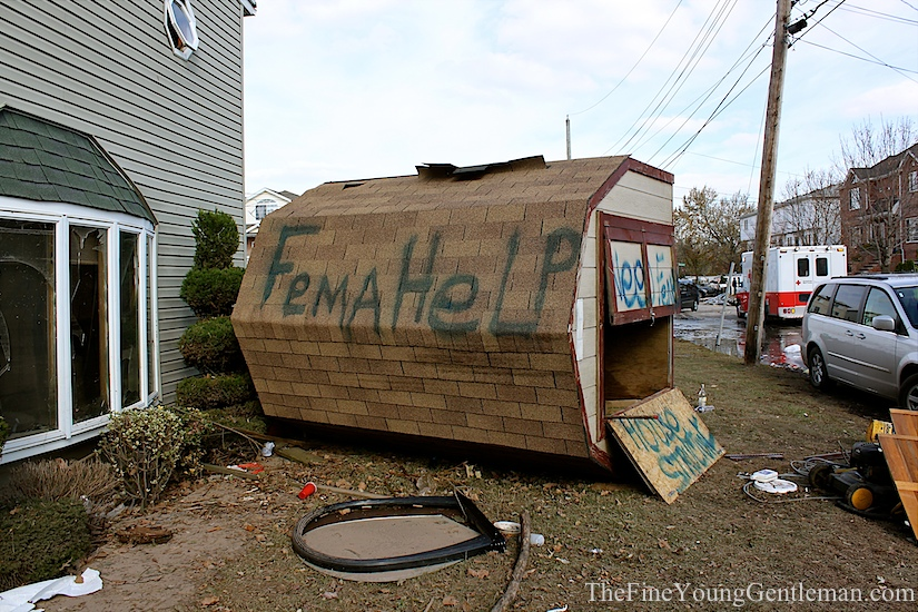 hurricane sandy fema