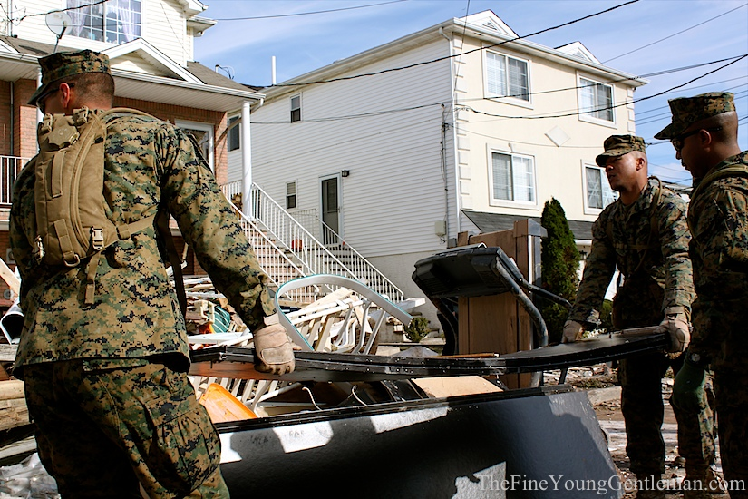 sandy relief effort us marines