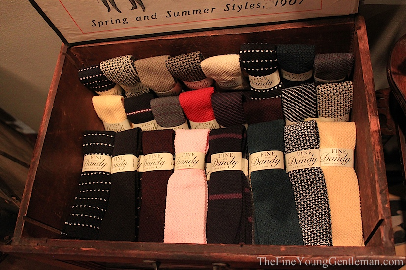 fine and dandy shop knit ties