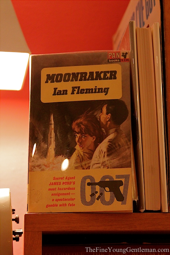 moonraker james bond book