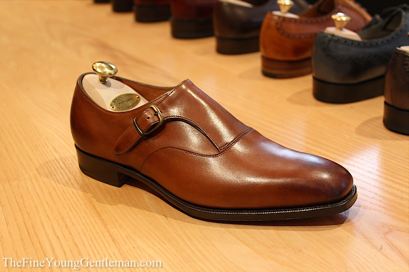 edward green monkstrap