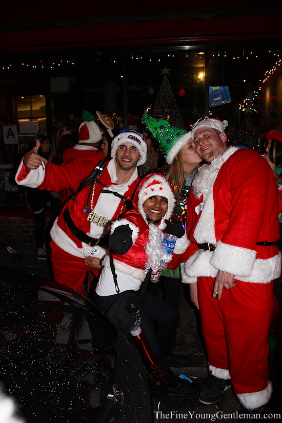 santacon nyc people