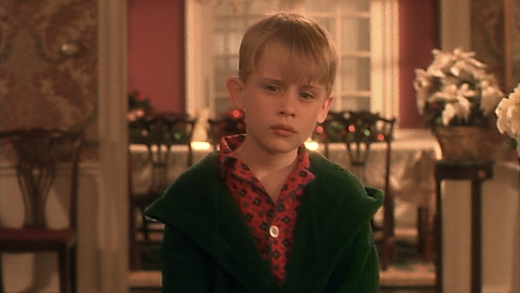 home alone style kevin
