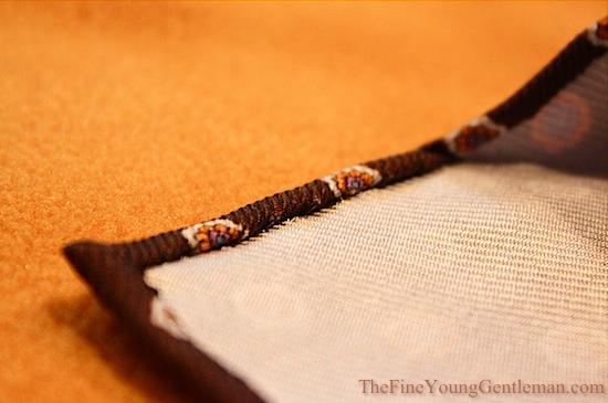 hand rolled necktie