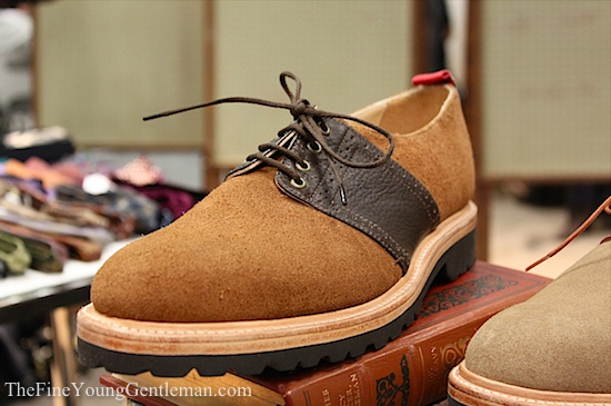 well bred saddle shoe