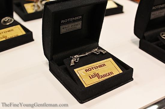robin rotenier lone ranger cufflinks