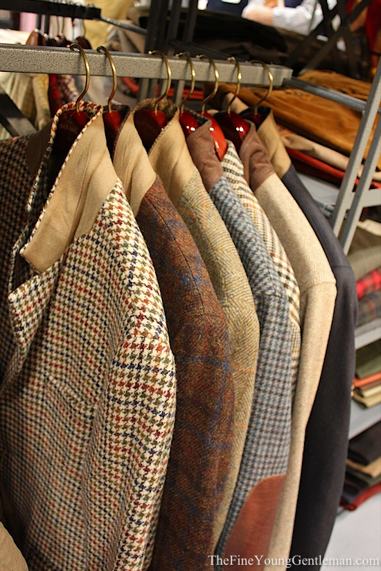bills khakis tweed jackets