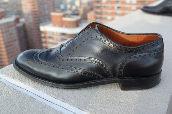 alden wingtip shoe
