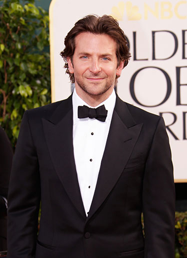Bradley Cooper typically represents Philadelphia well on the red carpet (although he did attend GA, a lesser school).