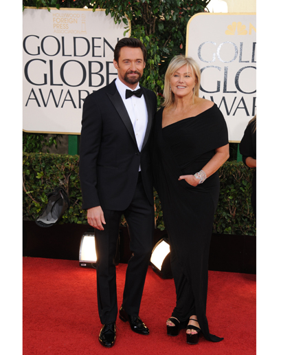 Tied for best dressed is Hugh Jackman.  He kept it as simple and classic as it gets and he kills it in this peak lapeled single button jacket.  The fit and proportions are all on point.