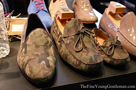 atelier camo driving shoes