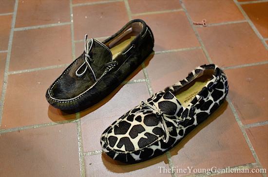 del toro driving shoe