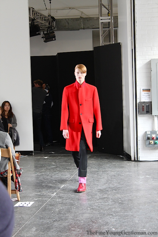 duckie brown fall winter 2013 red coat