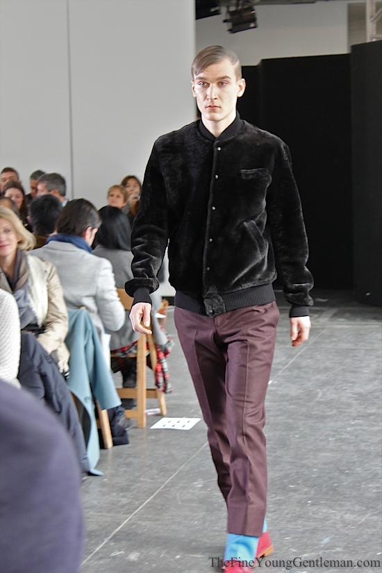 duckie brown shearling jacket