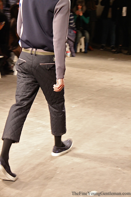general idea quilted pants