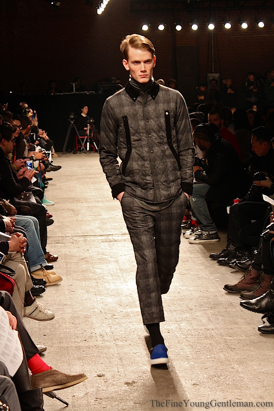 quilted suit