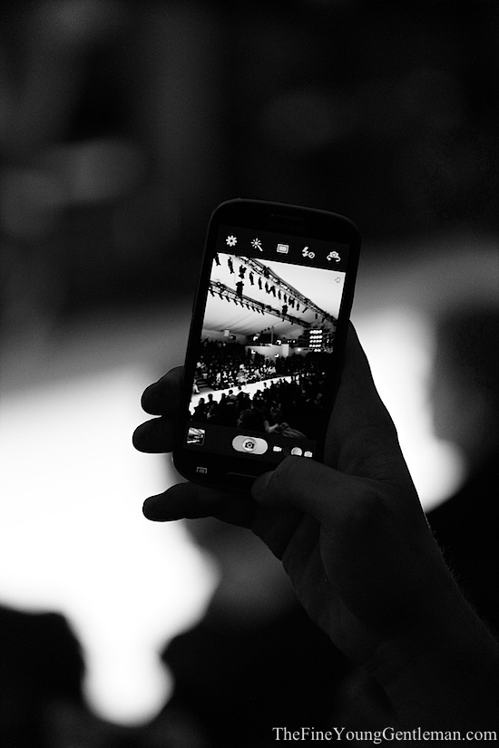 through the eyes of smartphone