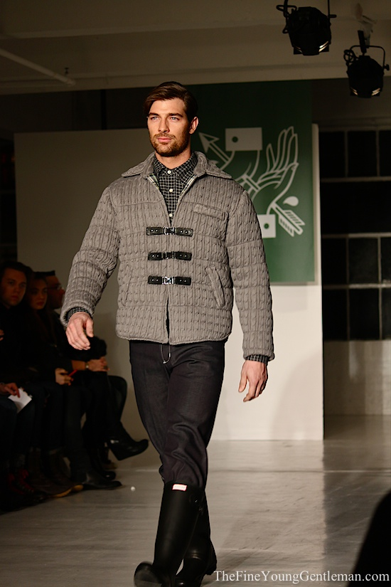 marlon gobel cableknit jacket