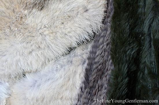 can men wear fur