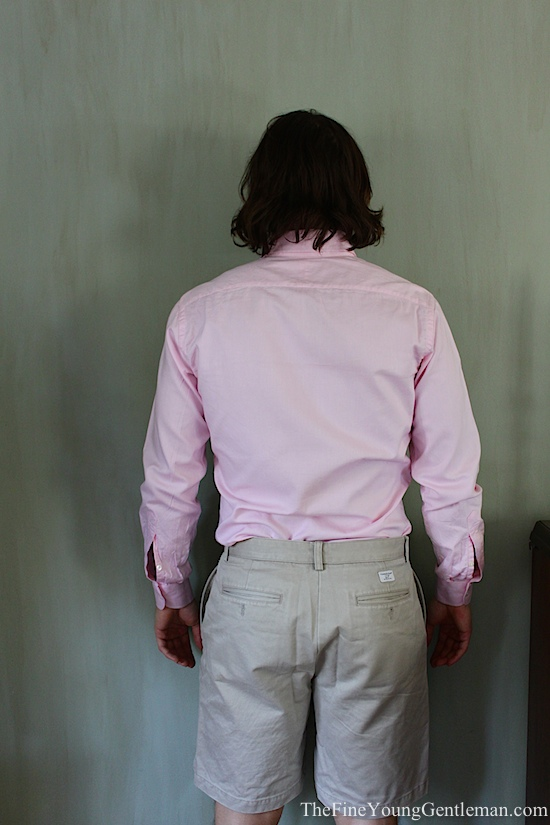custom shirt fit