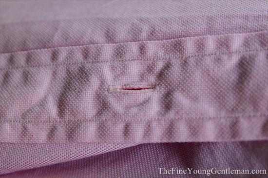 cottonwork buttonhole