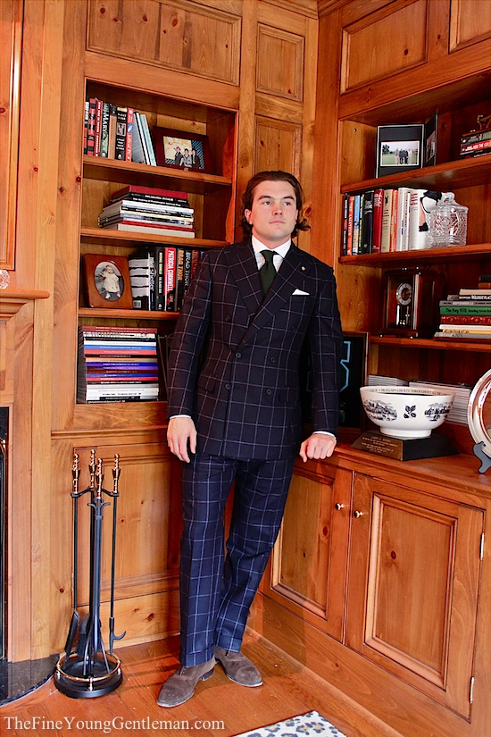 Things I Wear: The Double Breasted Windowpane Suit | The Fine