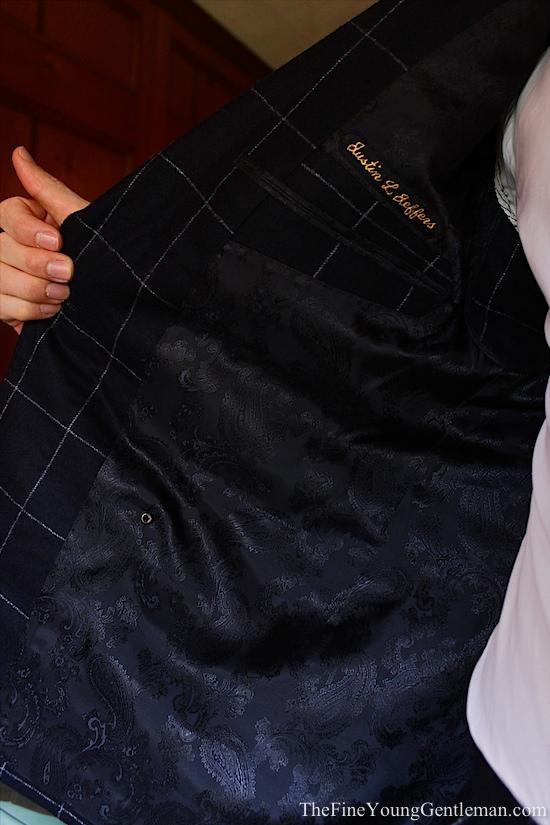 paisley suit liner