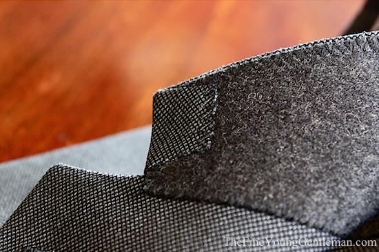 Knot standard collar lining