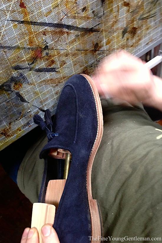 shoe repair - how to dye shoe soles