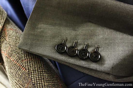 functioning sleeve buttons