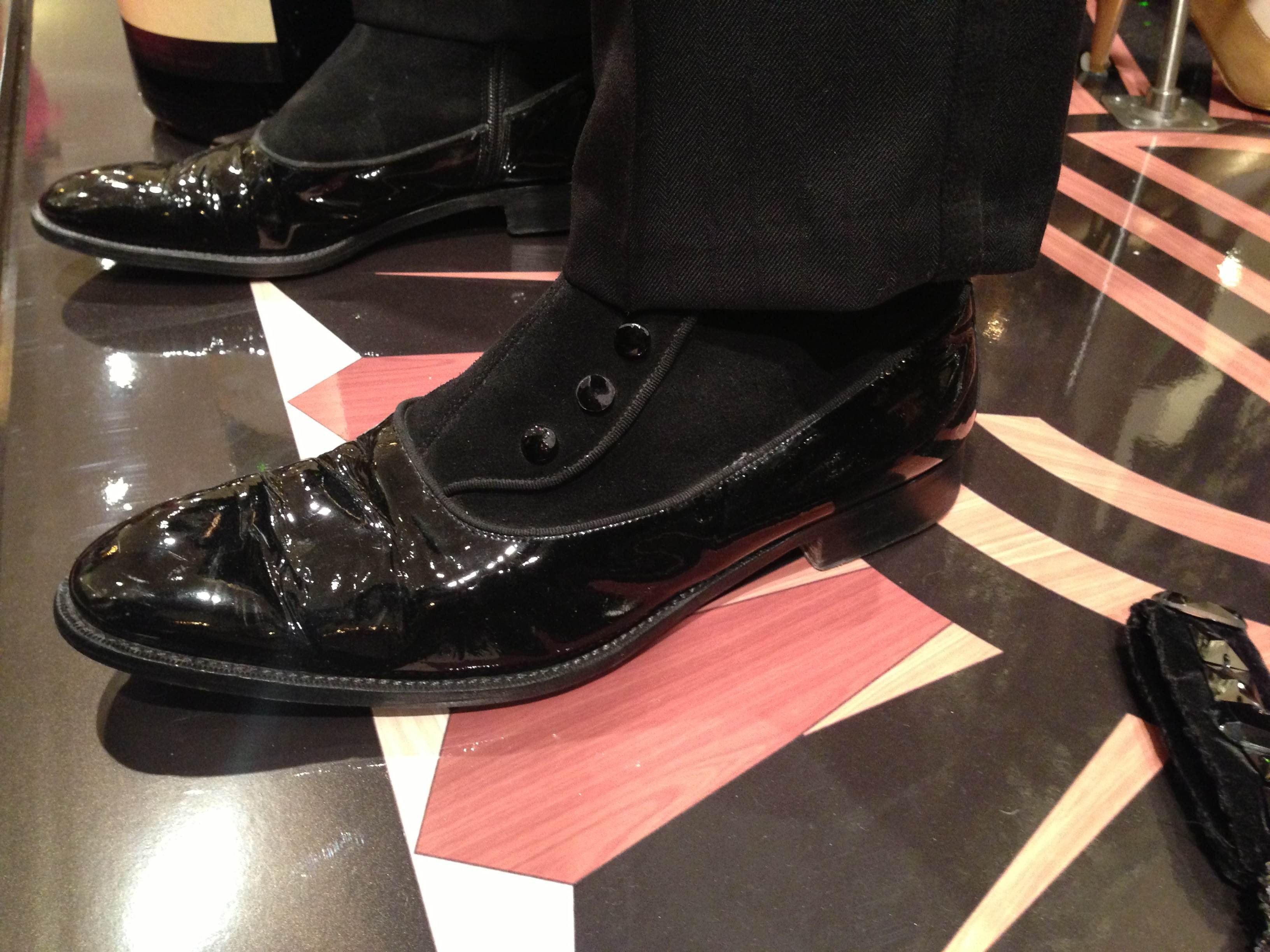 brooks brothers galosh patent leather