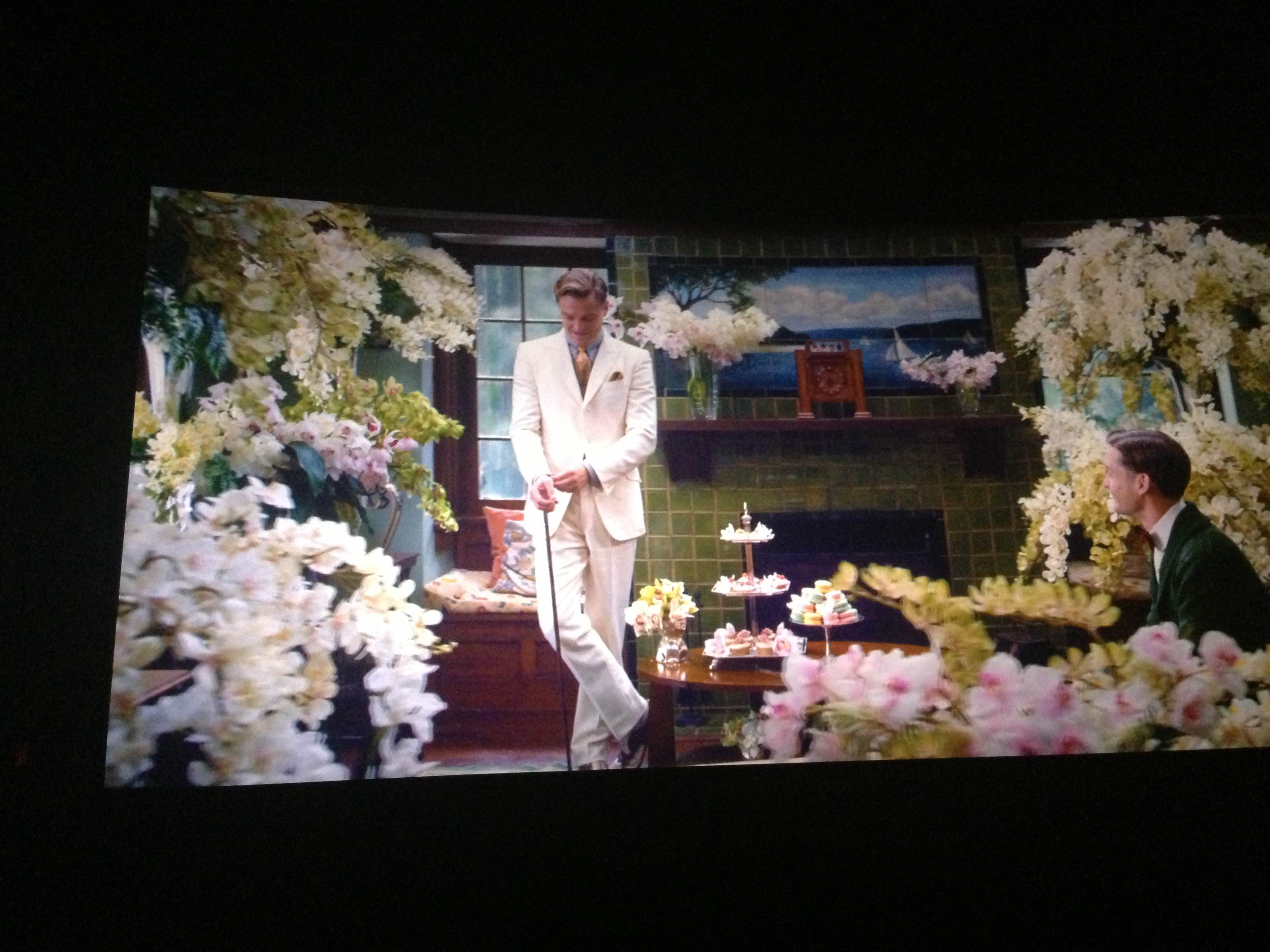 great gatsby white linen suit