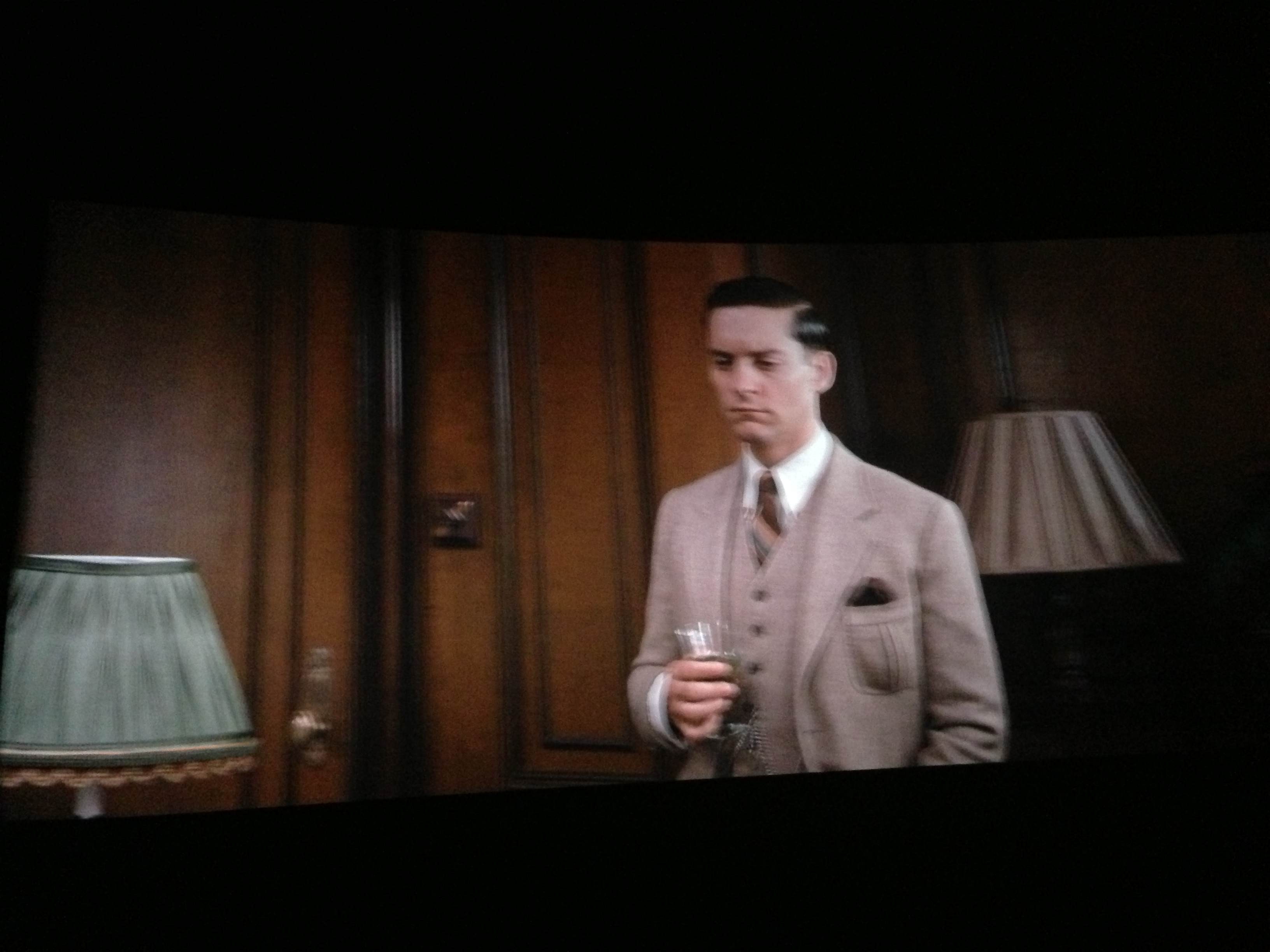 nick carraway great gatsby suit