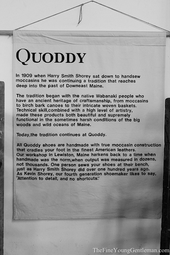 quoddy shoes story
