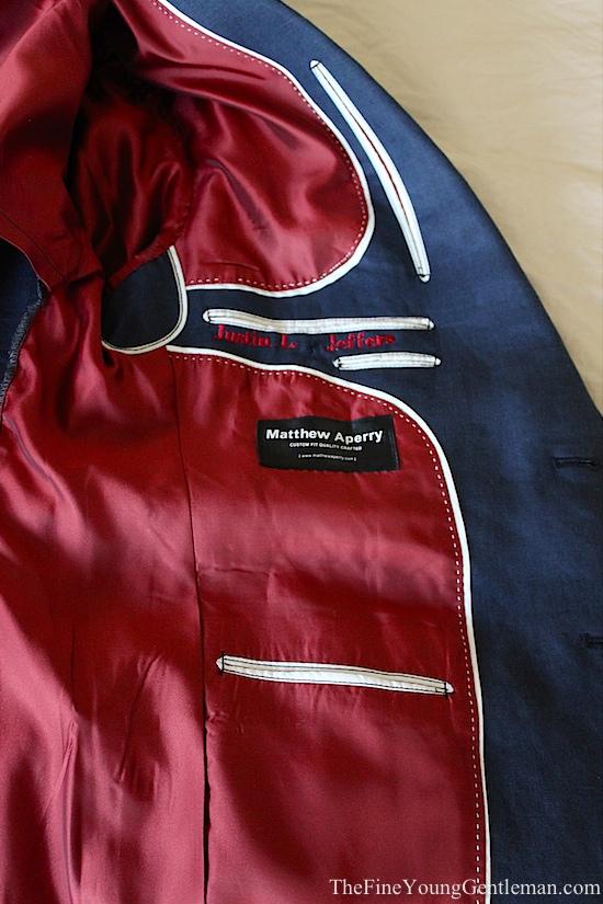 matthew aperry custom suits