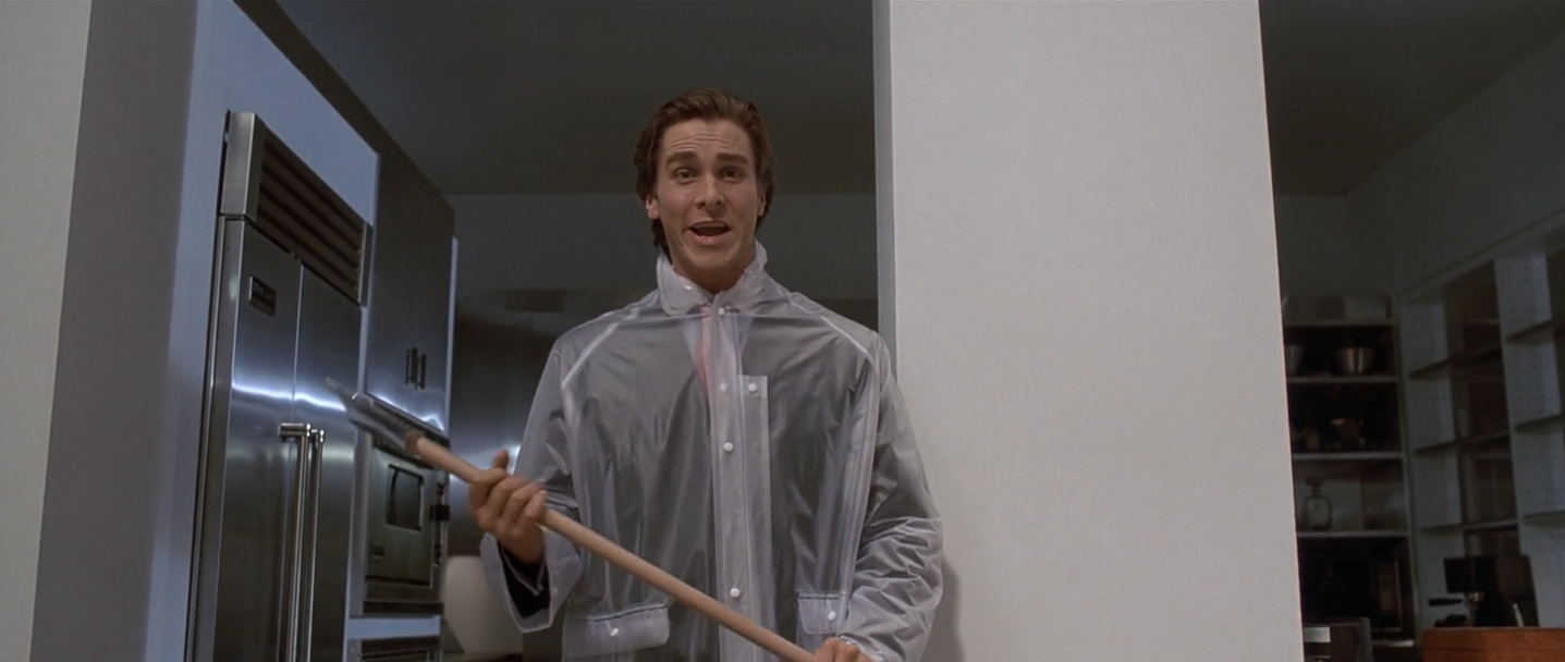 american psycho style
