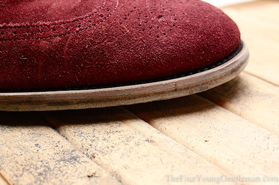 how to change the color of shoe soles
