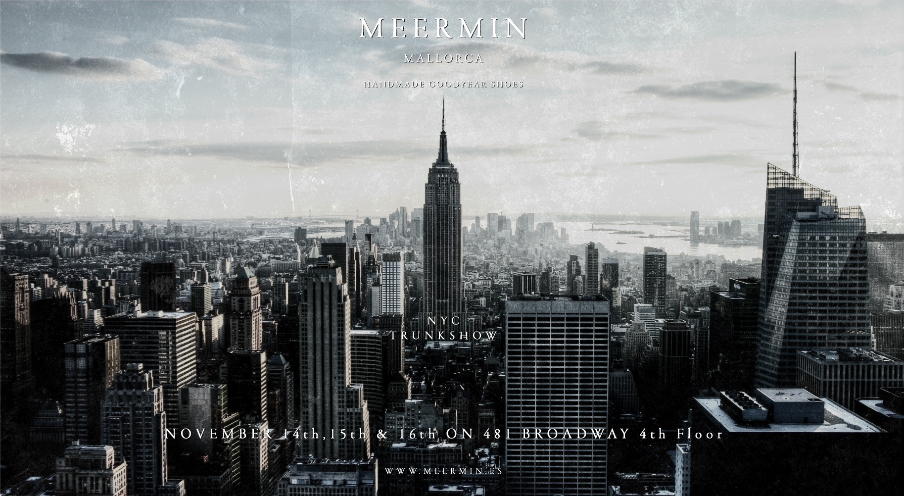 Meermin nyc trunk show
