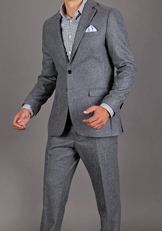 dragon inside gray flannel suit